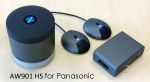 Duophon AW901 HS Conference Unit for Panasonic anthracite DUO2537 NEW