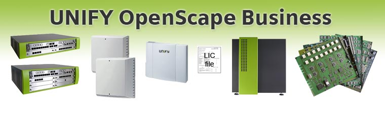 OpenScape Business V1 Hardware Platformen