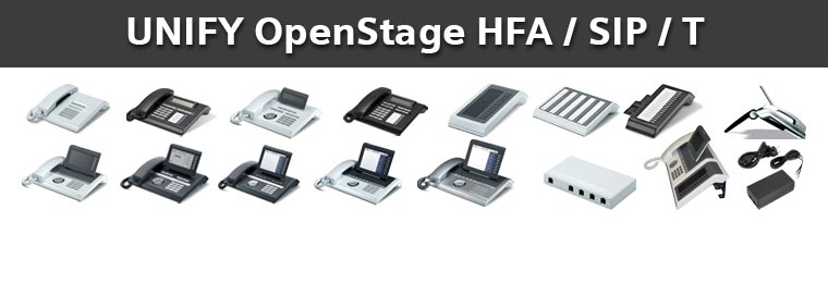Unify OpenStage Systemtelefone & VoIP Telefone