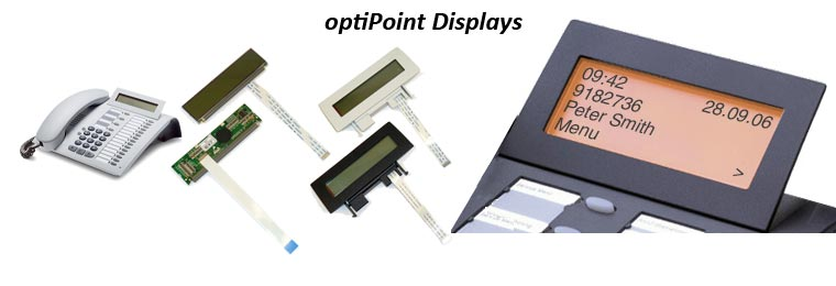 optiPoint LCD Display