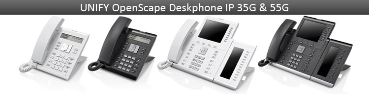 UNIFY OpenScape Deskphone IP 35G & 55G phones & accessories