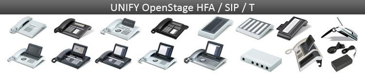 Unify OpenStage IP & system phones & accessories