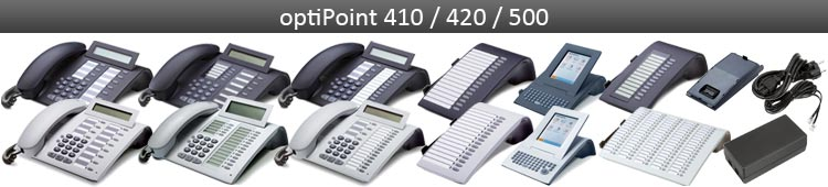 optiPoint 410 / 420 / 500 / 600 phones & accessories