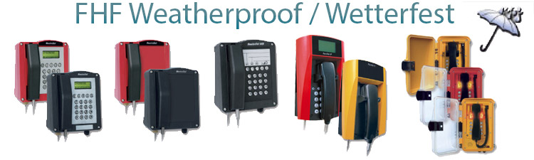 FHF Weatherproof Telephones