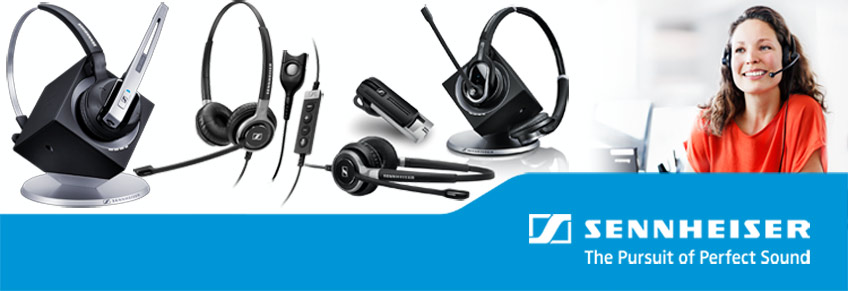 Sennheiser Office & Contact Center Headsets