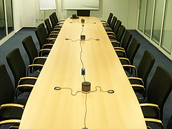 Conference room with Duophon AW 901