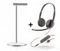 Preview: Plantronics Blackwire C3225 USB & 3,5 mm 209747-201 with headset stand