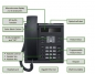 Preview: OpenScape Desk Phone IP 35G Eco text black L30250-F600-C420 NEW