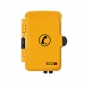 Preview: FHF Weatherproof Telephone InduTel yellow synthetic housing with protection door 11264501