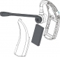 Preview: IPN W970 over the ear DECT Headset with EHS & USB IPN310 NEW