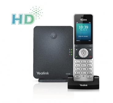 Yealink W60P Wireless DECT IP Phone