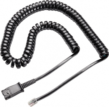 Plantronics connection cable to VistaPlus DM15E for D-Headsets only for 6-pin QD 77153-01 NEW