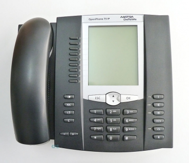 Mitel Aastra 6775 IP OpenPhone 75 IP 69355 schwarz refurbished