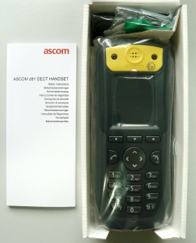 Ascom d81 Ex Protector with Man Down & No Movement & Pull Cord & LF location DH5-ABBEAB NEW