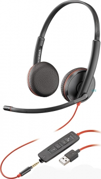 Plantronics Blackwire C3225 USB & 3,5 mm 209747-201