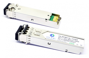 Olink 1000Base SFP Dual-fiber Transceiver 850nm MMF 550m LC 1000Mbps, GLC-SX-MM