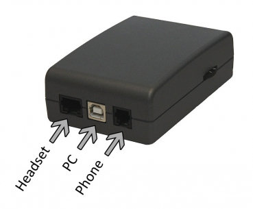 Duophon Control Unit ST901OS with RJ-45 Headset-Port anthracite DUO2585