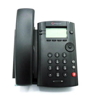 Polycom VVX 101 1-line Desktop Phone with single 10-100 Ethernet Port PoE wo PSU 2200-40250-025