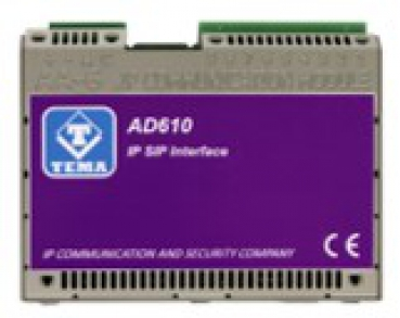 TEMA AD615/S Encoder Multicast IP SIP PoE analog to digital converter on LAN Network