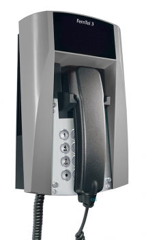 FHF Ex-Telephone FernTel 3 Zone 2 black/grey without display with spiral cord 11240027