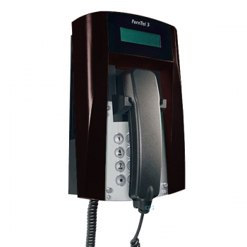 FHF Ex-Telephone FernTel 3 Zone 2 black with display with armoured cord 11243020