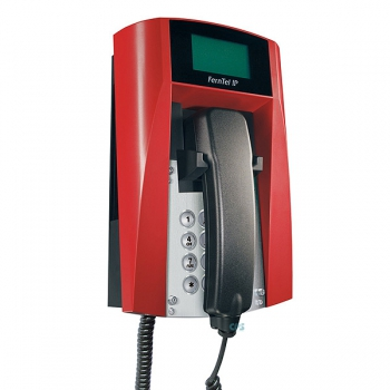 FHF Ex-Telephone FernTel IP Zone 2 black/red with armoured cord 11243122