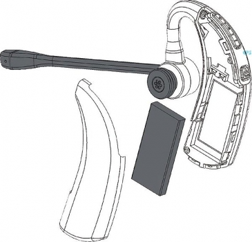 IPN W970 over the ear DECT Headset with EHS & USB IPN310 NEW