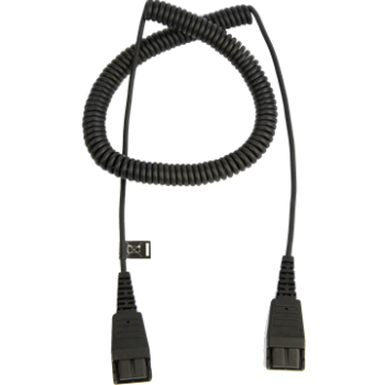 Jabra QD on QD extension cable spirally 0,5 - 2 meters 8730-009 NEW