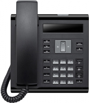 OpenScape Desk Phone IP 35G Eco icon SIP flashed to HFA black L30250-F600-C421 NEW