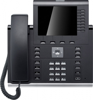 OpenScape Desk Phone IP 55G HFA text black L30250-F600-C296 NEW