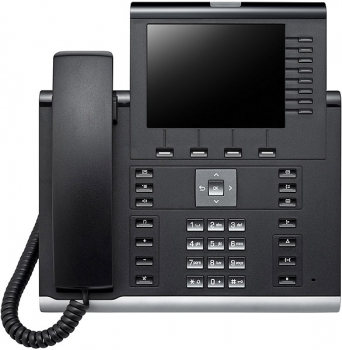 OpenScape Desk Phone IP 55G SIP icon black L30250-F600-C290 NEW