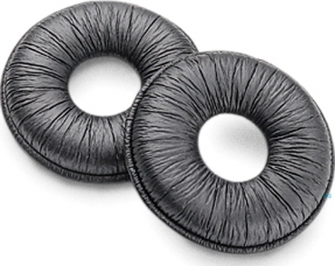 Poly Spare ear cushions made of synthetic leather CS540/WH500/W740/W440/V4245 87229-01 NEW