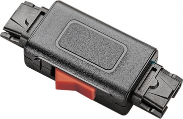 Plantronics Mute switch with QD connector only for 4-PIN-QD 27708-01 NEW