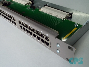 External patch panel MFPP 48xRJ45 2-pole H3800 / OSBiz X8 L30251-U600-A147 S30807-Q6143 Refurbished