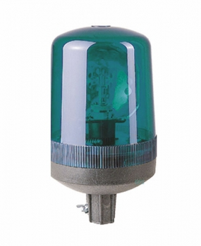 FHF Rotating mirror beacon SLD 2 12 VDC green 22201104