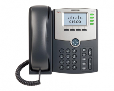 Cisco SPA504G Small Business Pro VoIP phone 4 Lines, Display PoE PC Port
