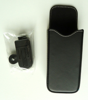 Phone Leather Case Leather Bag Holster for ASCOM d41 / d62 / d81 NEW