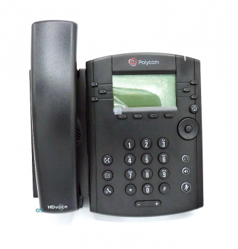 Polycom VVX 311 6-line Desktop Phone Gigabit Ethernet, with HD Voice, PoE 2200-48350-025