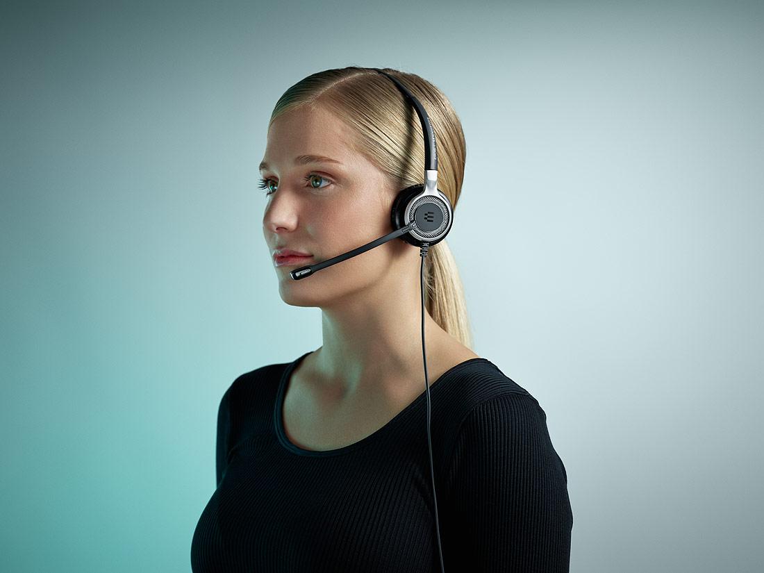 USB CTRL // ML Headset-Case Schutz-Etui Tasche für Sennheiser SC 630// SC 660