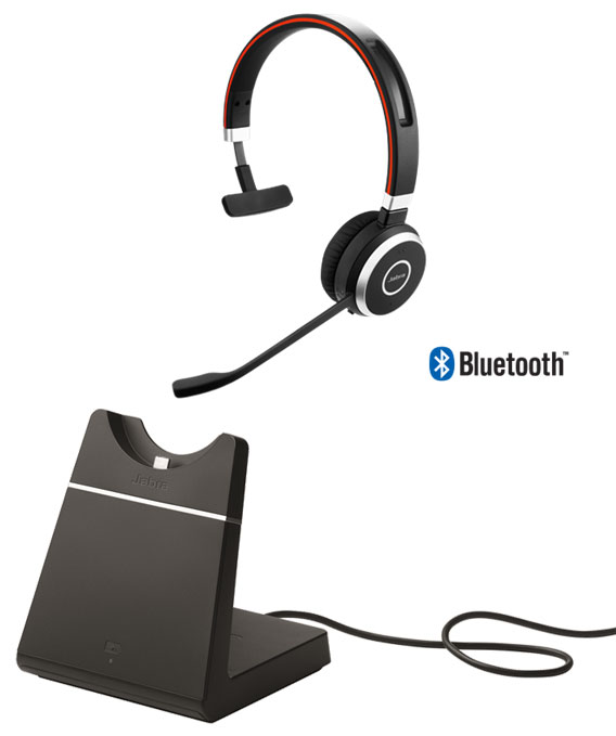 Jabra Evolve 65 Ms Mono Usb Incl Charging Station 6593 823 399