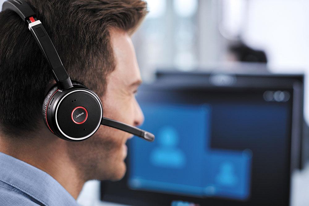 Jabra Evolve 75 Uc Duo Incl Link 370 7599 838 109