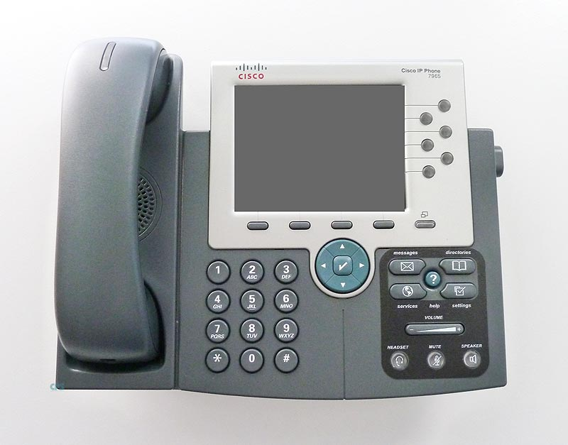 Lot of 10 CISCO CP-7965G Unified IP Phone 7965 POE