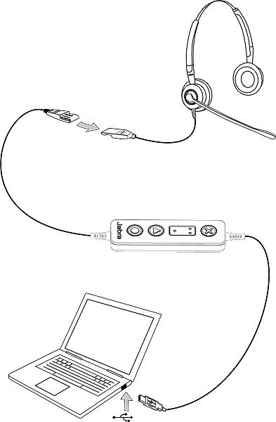 Jabra Link 260 Usb Adapter Qd On Usb 260 09 New