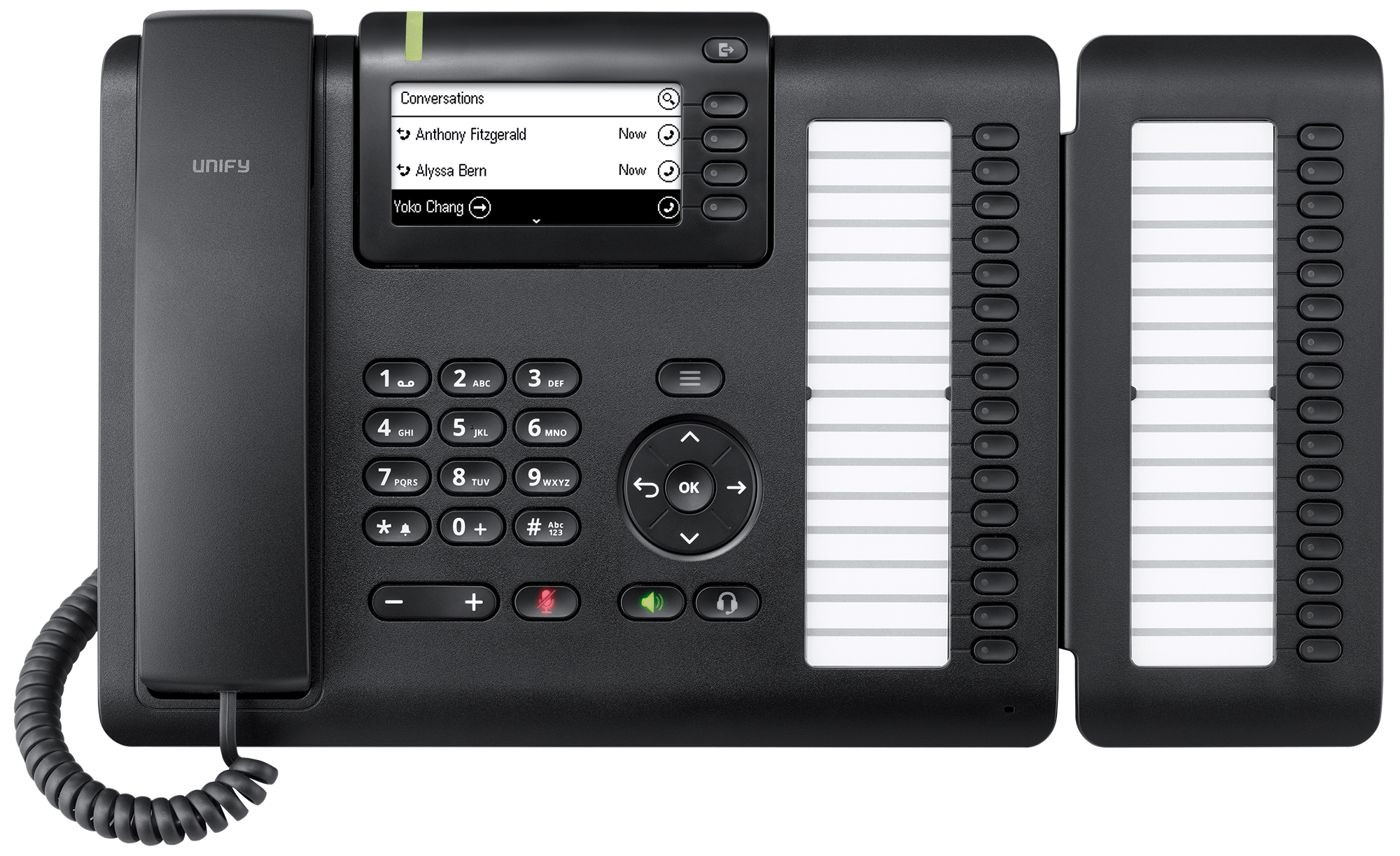 format small system by line phone business telefield desk rca