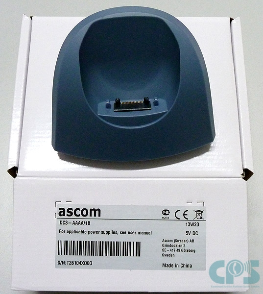 Ascom Charger for d41 d62 i62 EU Version DC3-AAAA NEW