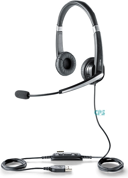 Jabra UC VOICE 550 MS Duo Noise Cancelling 5599-823-109 NEU