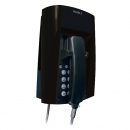 FHF Weatherproof Telephone FernTel 3 black without display with spiral cord 11230020