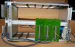 Schroff extension rack with power supply Refurbished