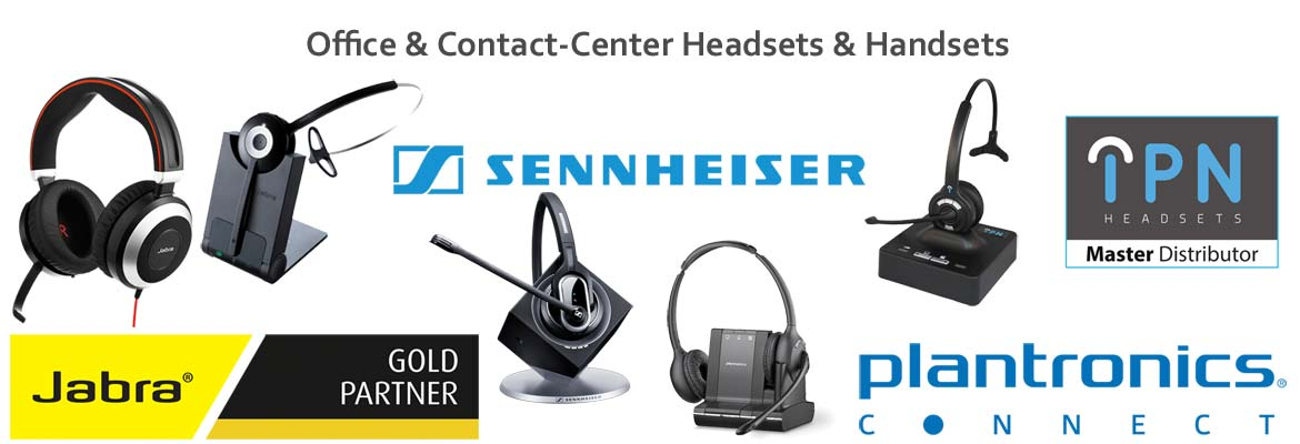 Headsets für Office & Contact-Center