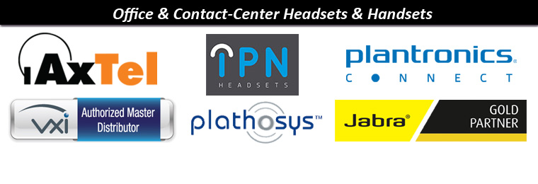 Headsets for Office & Contact-Center